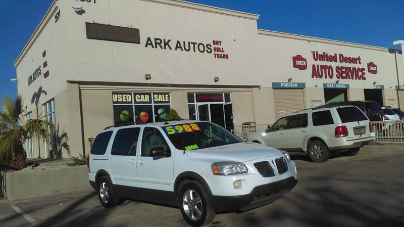 2006 Pontiac Montana Sv6 For Sale In Las Vegas Nv