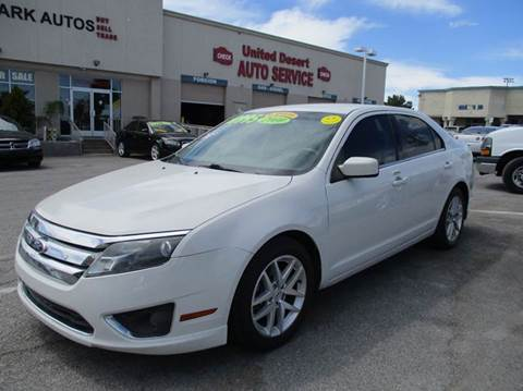 2010 Ford Fusion for sale in Las Vegas, NV