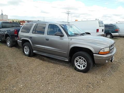 2001 Dodge Durango for sale in Chamberlain, SD