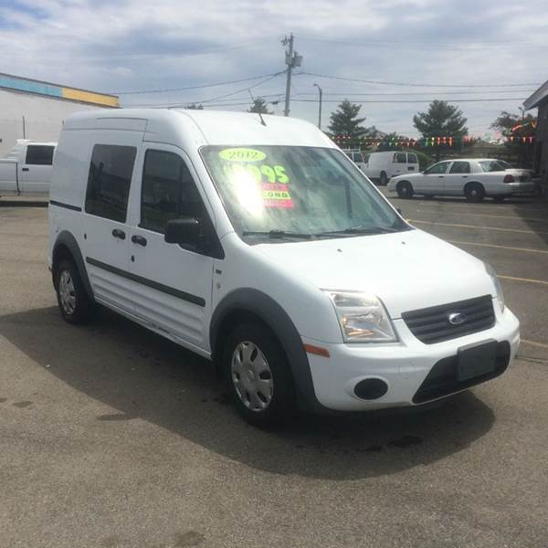 2012 Ford Transit Connect Cargo Van Xlt 4dr Mini W Side