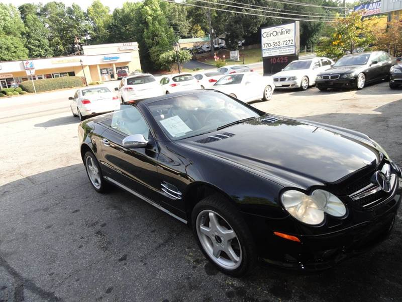 Convertibles for sale in roswell ga for Mercedes benz roswell