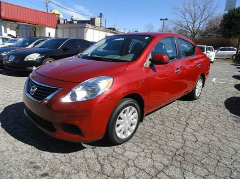 2012 Nissan Versa for sale in Roswell, GA