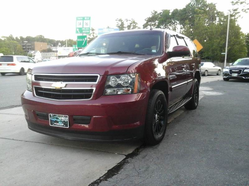 2009 chevrolet tahoe 4x4 hybrid 4dr suv in revere ma circle auto sales. Black Bedroom Furniture Sets. Home Design Ideas