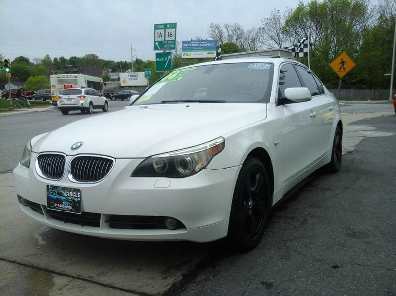 2006 bmw 5 series 530xi awd in revere ma circle auto sales. Black Bedroom Furniture Sets. Home Design Ideas