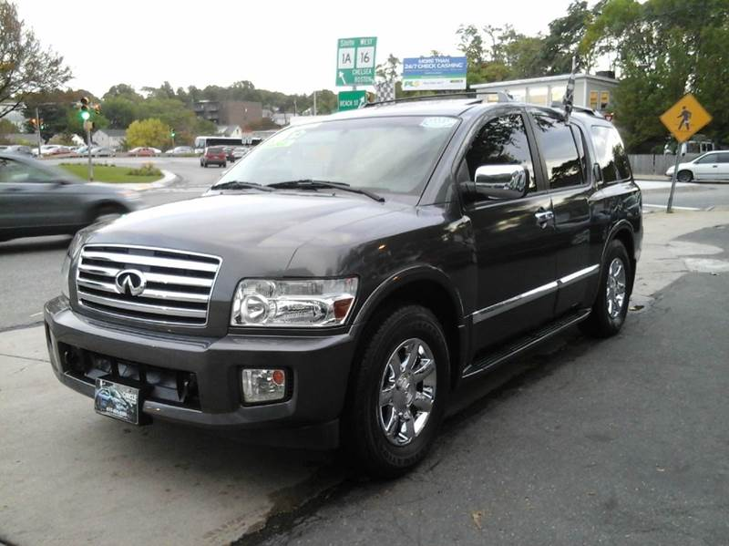 2006 infiniti qx56 loaded in revere ma circle auto sales. Black Bedroom Furniture Sets. Home Design Ideas