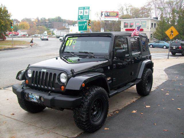 2007 jeep wrangler unlimited unlimited sahara 4wd in revere ma circle auto sales. Black Bedroom Furniture Sets. Home Design Ideas