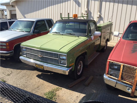 1984 Chevrolet C/K 20 Series