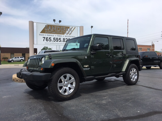 2007 Jeep Wrangler Unlimited 4x4 Sahara 4dr SUV - Winchester IN