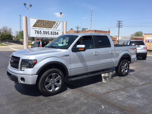 2013 Ford F-150 4x4 FX4 4dr SuperCrew Styleside 5.5 ft. SB - Winchester IN
