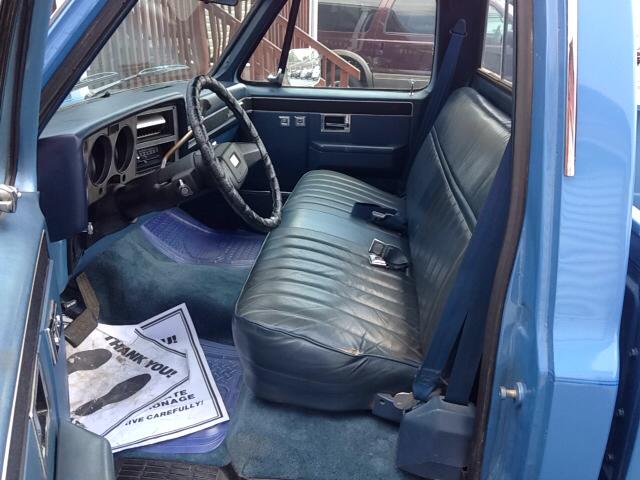 1986 GMC C/K 2500 Series