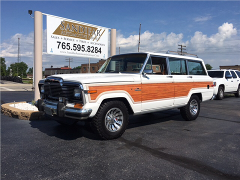 1984 Jeep Grand Wagoneer for sale in Winchester, IN