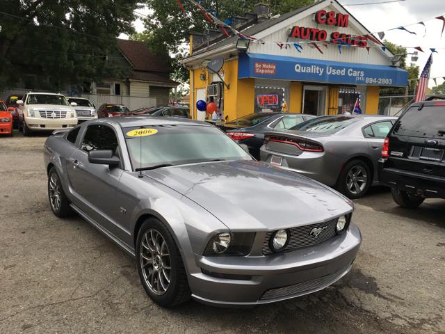 Ford Mustang Gt Premium Dr Fastback Detroit Mi