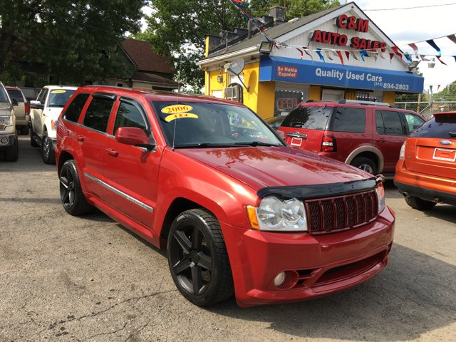 2006 jeep grand cherokee srt8 4dr suv 4wd w front side airbags in detroit mi c m auto sales. Black Bedroom Furniture Sets. Home Design Ideas