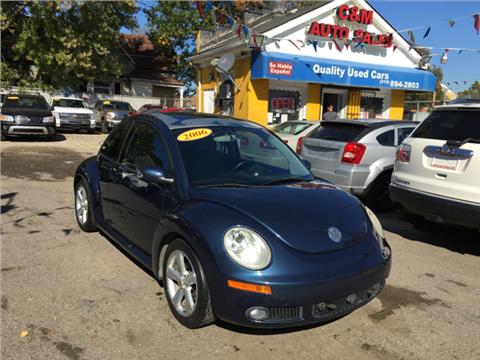 2006 Volkswagen New Beetle for sale in Detroit, MI