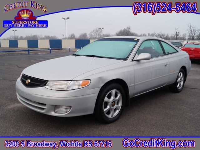 2000 toyota camry solara sle v6 2dr coupe in wichita ks. Black Bedroom Furniture Sets. Home Design Ideas