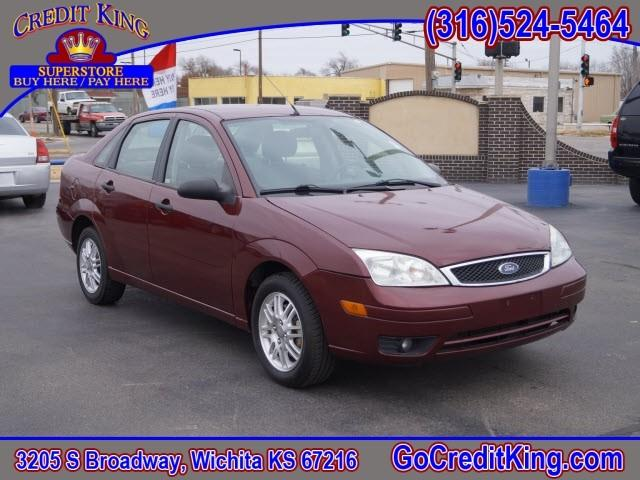 2007 ford focus zx4 se 4dr sedan in wichita ks credit. Black Bedroom Furniture Sets. Home Design Ideas