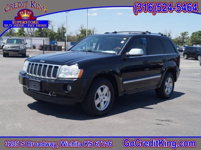 2006 jeep grand cherokee overland 4dr suv 4wd in wichita ks credit king auto sales. Black Bedroom Furniture Sets. Home Design Ideas