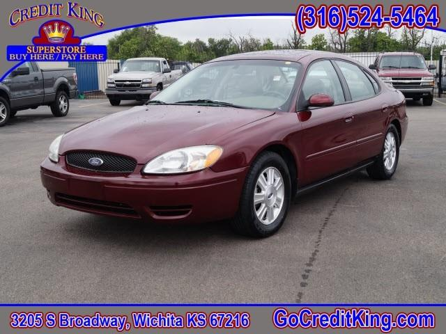 2005 ford taurus sel 4dr sedan in wichita ks credit king. Black Bedroom Furniture Sets. Home Design Ideas