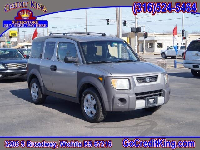 2003 honda element awd ex 4dr suv in wichita ks credit. Black Bedroom Furniture Sets. Home Design Ideas