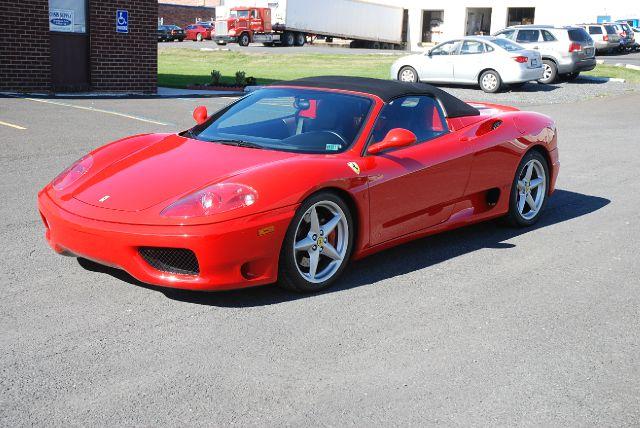 2004 Ferrari 360 Spider 2dr Convertible