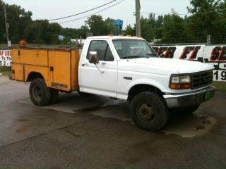 1994 Ford Superduty Contractor Box- Diesel