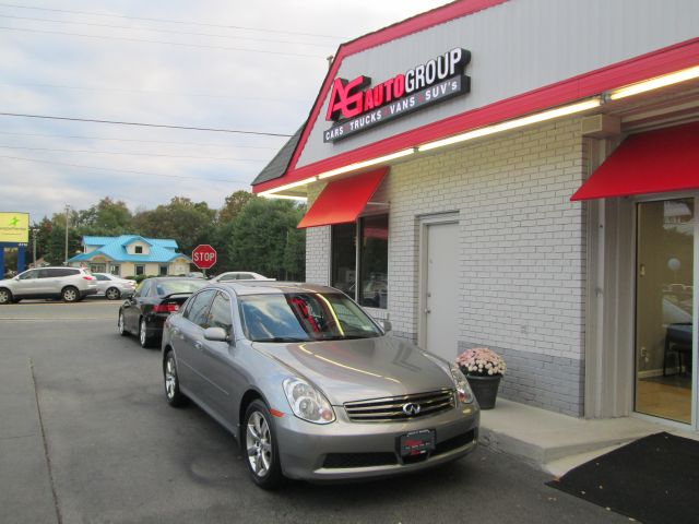 2006 INFINITI G35 SEDAN X AWD silver 4wdawdabs brakesair conditioningalloy wheelsamfm radio