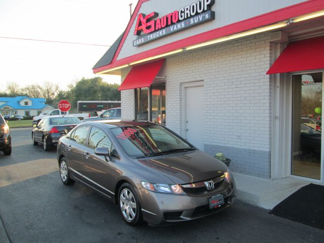 2009 HONDA CIVIC LX SEDAN 5-SPEED AT gray abs brakesair conditioningamfm radioanti-brake syste