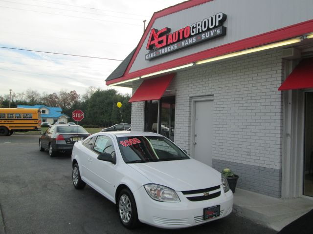2009 CHEVROLET COBALT LS COUPE white air conditioningamfm radioanti-brake system 4-wheel absa