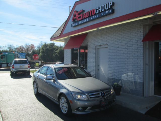 2008 MERCEDES-BENZ C-CLASS C300 LUXURY SEDAN grey abs brakesair conditioningalloy wheelsamfm r