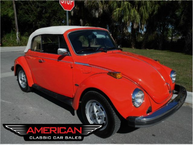 1979 Volkswagen Beetle Convertible