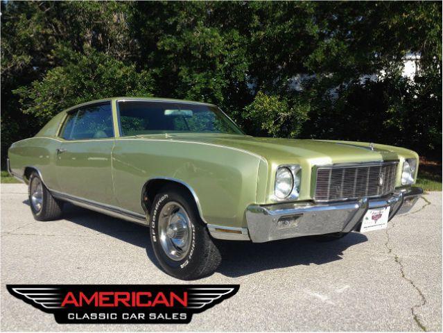 Used 1971 Chevrolet Monte Carlo For Sale Carsforsale Com