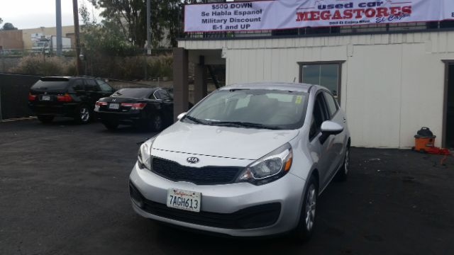 2013 KIA RIO LX 4DR SEDAN 6A silver abs - 4-wheel active head restraints - dual front airbag de