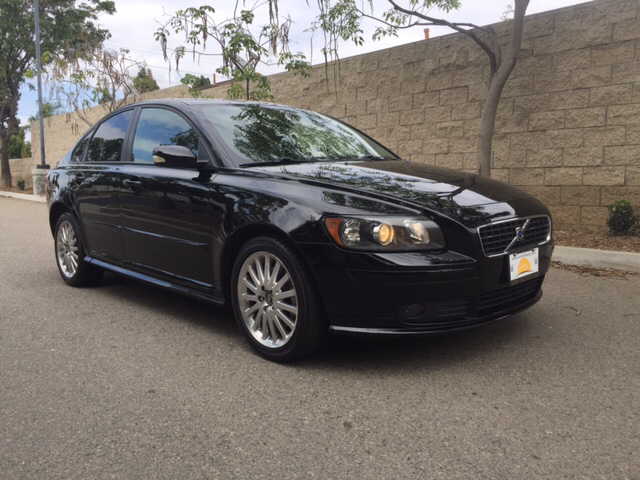 2006 VOLVO S40 T5 4DR SEDAN black abs - 4-wheel air filtration airbag deactivation - occupant s