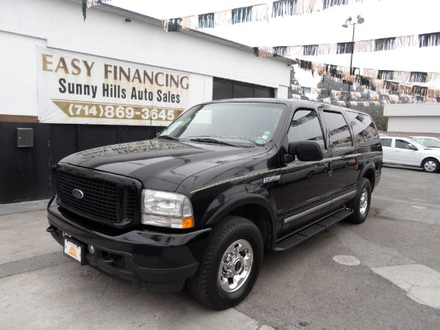 2003 FORD EXCURSION LIMITED 4DR SUV black abs - 4-wheel adjustable pedals - power anti-theft sy