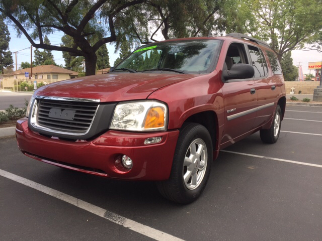 2006 GMC ENVOY XL SLE 4DR SUV red abs - 4-wheel airbag deactivation - occupant sensing passenger