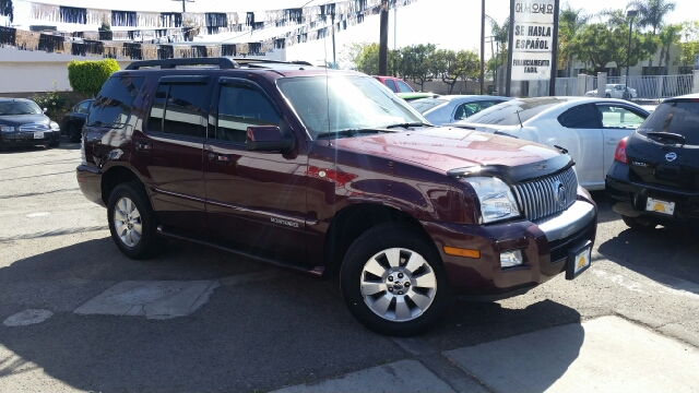 2007 MERCURY MOUNTAINEER BASE AWD 4DR SUV marron 2-stage unlocking - remote abs - 4-wheel airba