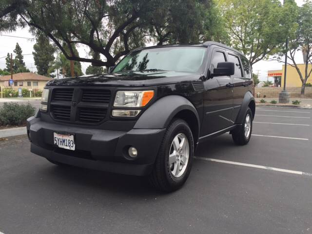 2007 DODGE NITRO SXT 4DR SUV black 2-stage unlocking - remote abs - 4-wheel airbag deactivation