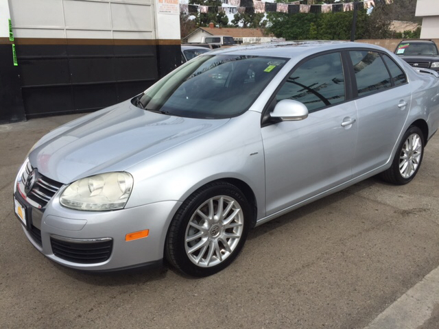 2008 VOLKSWAGEN JETTA WOLFSBURG EDITION PZEV 4DR SEDAN silver 2-stage unlocking - remote abs - 4