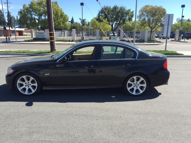 2006 BMW 3 SERIES 330I 4DR SEDAN black fully loaded  abs - 4-wheel air filtration airbag deacti