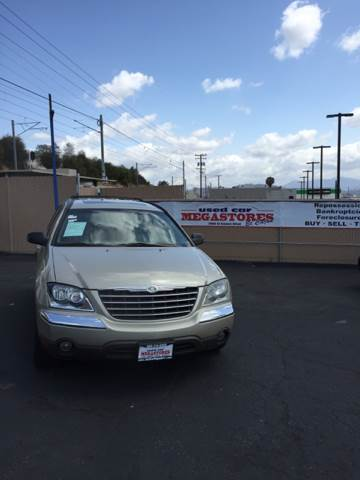 2005 CHRYSLER PACIFICA TOURING AWD 4DR WAGON gold abs - 4-wheel anti-theft system - alarm cente