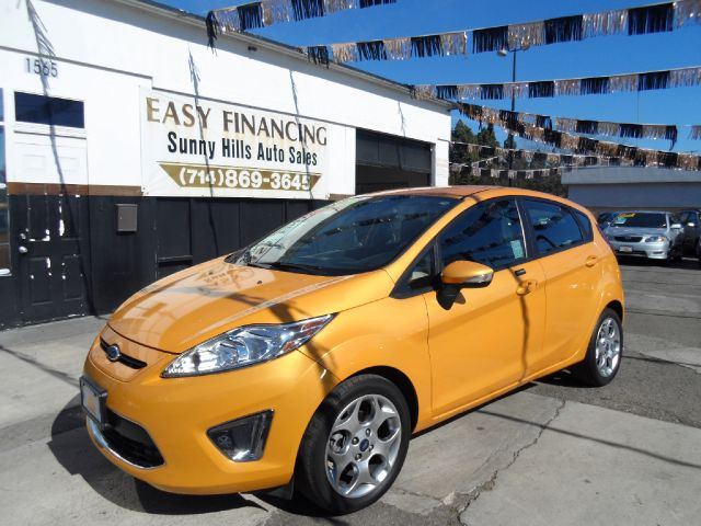 2011 FORD FIESTA SES 4DR HATCHBACK yellow abs - 4-wheel airbag deactivation - occupant sensing p