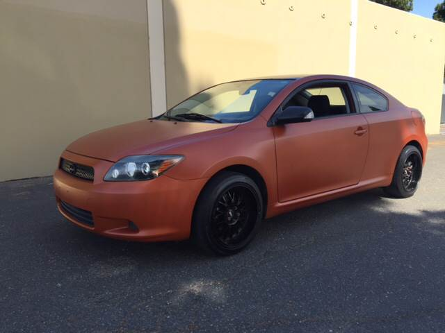 2008 SCION TC BASE 2DR HATCHBACK 4A orange 2-stage unlocking - remote abs - 4-wheel antenna typ
