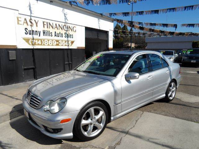 2006 MERCEDES-BENZ C-CLASS C230 SPORT 4DR SEDAN silver abs - 4-wheel air filtration airbag deac
