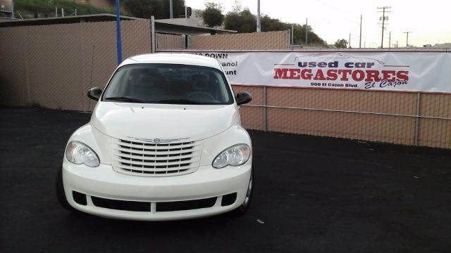 2008 CHRYSLER PT CRUISER BASE 4DR WAGON white 2-stage unlocking - remote airbag deactivation - o