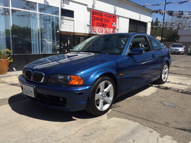 2000 BMW 3 SERIES 328CI 2DR COUPE blue abs - 4-wheel cassette cruise control daytime running l