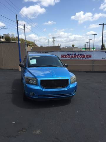 2008 DODGE CALIBER SXT 4DR WAGON blue 2-stage unlocking air filtration - active charcoal airbag
