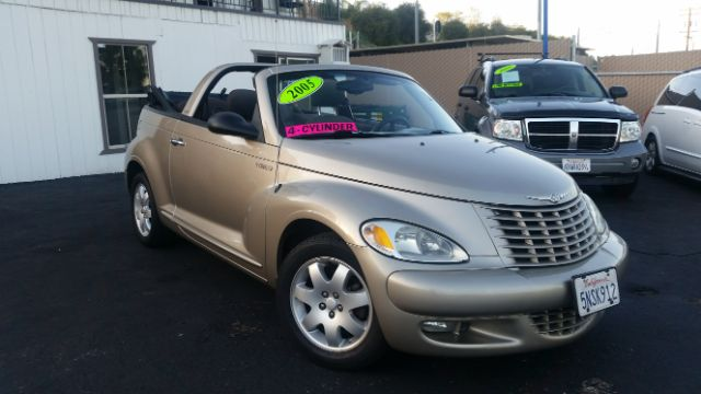 2005 CHRYSLER PT CRUISER TOURING 2DR CONVERTIBLE gold anti-theft system - alarm center console -