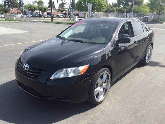 2007 TOYOTA CAMRY LE 4DR SEDAN 24L I4 5A black 2-stage unlocking - remote abs - 4-wheel air