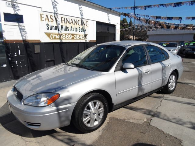 2007 FORD TAURUS SEL FLEET 4DR SEDAN silver 2-stage unlocking - remote airbag deactivation - occ