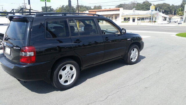 2006 TOYOTA HIGHLANDER LIMITED 4DR SUV W3RD ROW black abs - 4-wheel air filtration airbag deac